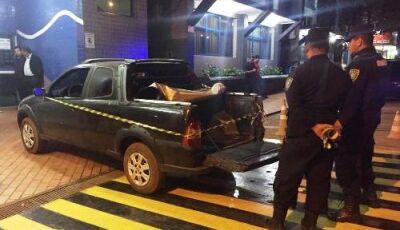 PISTOLAGEM: ao chegar em casa, jovem é executado a tiros