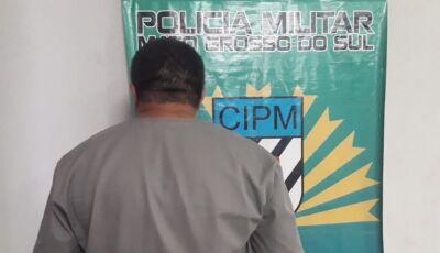 Foragido é capturado pela PM no centro de Bonito (MS)
