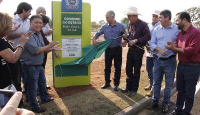 Em Três Lagoas, governo entrega novo acesso ao Parque Industrial com ciclovia
