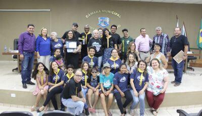 Vereadores entregam Moção de Parabenização a Igreja Adventista do Sétimo Dia em Bonito (MS)