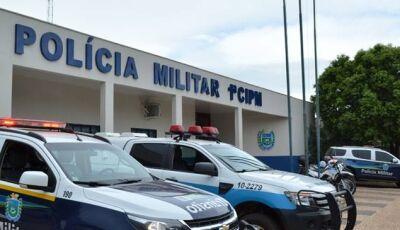 Homem ameaça, persegue ex-mulher até sede da PM é preso em flagrante, em Bonito