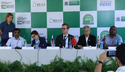 Brics: Produção integrada de MS impressiona ministros da Rússia, Índia, China e África do Sul em Bon