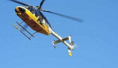 PRF usará helicóptero para fiscalizar BR-463 em dias de Black Friday