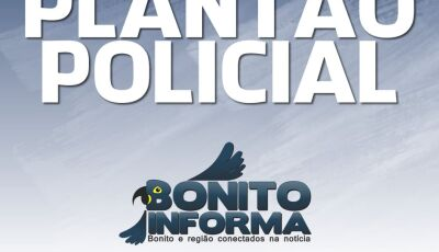 Motociclista que foi atingido por viatura policial está em coma na Santa Casa da Capital