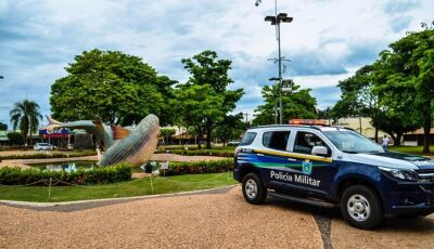 Foragido é capturado pela PM em carro de luxo na principal via de Bonito (MS)