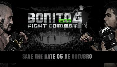 Bonito Eco Fight 04 será neste sábado, a partir das 19 horas