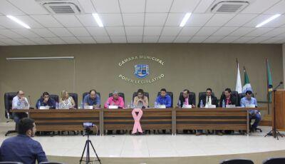Confira o trabalho do seu vereador durante sessão ordinária da Câmara de Bonito (MS)