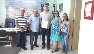 Empossado novo operador de máquinas concursado em Bonito (MS)