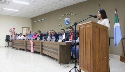 Confira o trabalho do seu vereador durante sessão ordinária na Câmara em Bonito (MS)