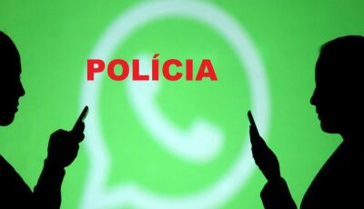 Mulher agride marido com paulada e garrafada após ler mensagem no WhatsApp em MS