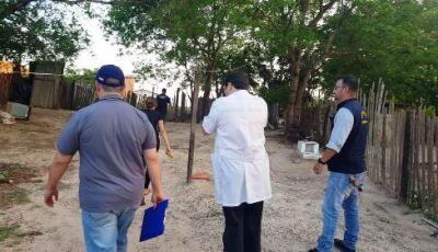 Criança é morta e colocada dentro de forno na fronteira com o Paraguai