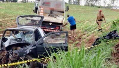Trágico acidente mata quatro pessoas da mesma família