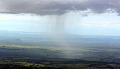 Previsão é de chuva forte e temperaturas em queda nesta quarta-feira