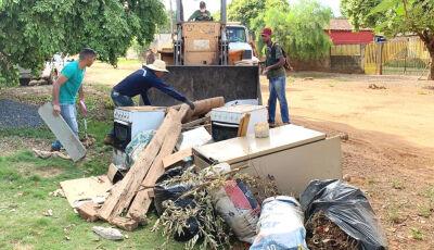Se liga aí, Saúde divulga nova programação para coleta de lixo e entulho em Bonito (MS)