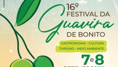 BONITO: 16º Festival da Guavira será no próximo sábado e domingo, Confira a programação