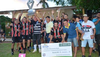 Confira as FOTOS da Final do Campeonato Municipal de Futebol 2019 em Bonito (MS)