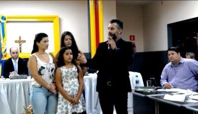Durante sessão, Vereador junto com sua família pede proteção por sofrer graves ameaças em MS