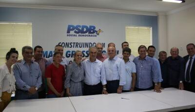 Prefeito Odilon ganha apoio de Paulo Côrrea e Reinaldo Azambuja