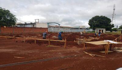 Governo e Prefeitura iniciam construção da maternidade de Maracaju
