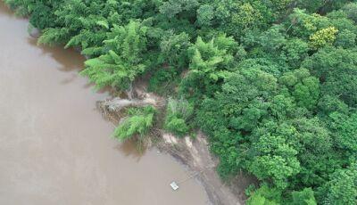Laudo do Imasul conclui ser 'fenômeno natural' material orgânico que obstruiu leito do rio Miranda