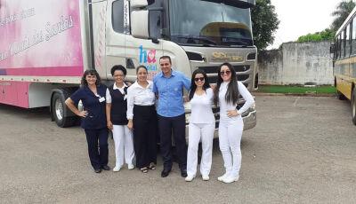 Carreta do Hospital do Amor do Hospital do Câncer de Barretos começa a atender nesta terça em Bonito