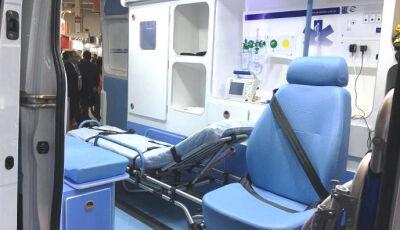 Já licitada, Ambulância Tipo 'D' vai vir equipada para atender recém-nascidos em Bonito (MS)