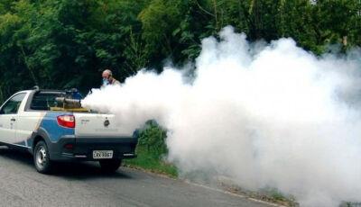Saúde utiliza o veículo fumacê para combate à dengue, confira o roteiro em Bonito (MS)