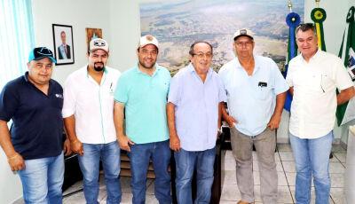 Prefeito recebe organizadores da 6ª Cavalgada de Bonito, confira como será