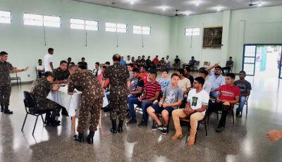 Embarque dos selecionados para o serviço militar já tem dia e hora marcada em Bonito (MS)