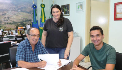 Prefeito autoriza o início da ampliação da escola de Águas do Miranda em Bonito (MS)