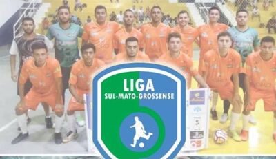 Neste sábado tem dois jogos pela Liga Sul Mato-Grossense de Futsal em Bonito (MS)