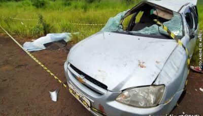 Saindo de festa, jovem de 25 anos morre em acidente de carro em MS