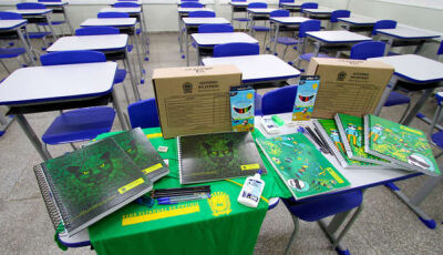 Estudantes receberão uniformes e materiais escolares no início das aulas em MS