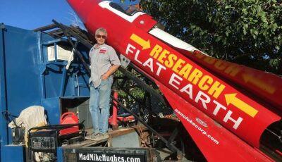 Homem morre em foguete ao tentar provar que a Terra é plana