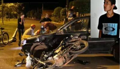 Motorista bêbado atropela e mata adolescente após toque de recolher em cidade de MS