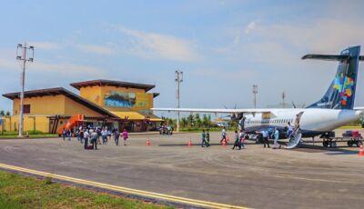 Coronavírus obriga e Azul decide suspender voos em Três Lagoas, Corumbá e Bonito (MS)