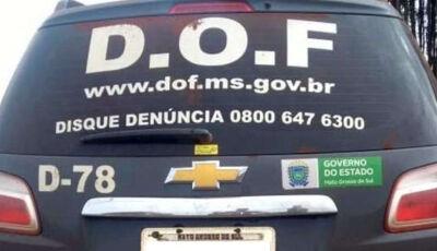 Foragido da Justiça de Rondônia é preso em Bonito