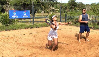 Confira quem ganhou na 1ª etapa do Circuito Sul-mato-grossense de Beach Tennis em Bonito (MS)