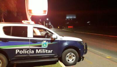PM e Guarda fazem trabalho preventivo e evita aglomerações de pessoas, em Bonito