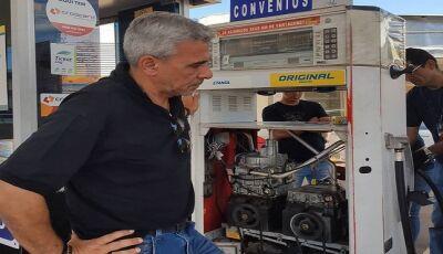 9 postos de combustíveis são autuados; 2 entregavam menos gasolina do que cobravam