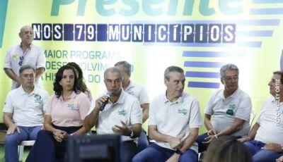 No maior pacote de obras da história, Reinaldo investe R$ 4 bilhões em todas as cidades de MS