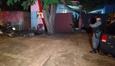 AGORA: Dois homens são mortos a tiros ao lado de uma escola