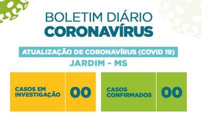 Morte suspeita de Covid-19 é descartada pelo Estado em Jardim (MS)