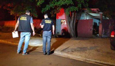 Mecânico e pedreiro são executados com 12 tiros em bar de MS