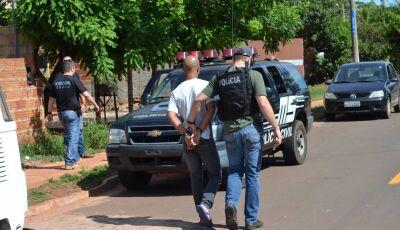 Ladrão de Porto Murtinho é preso; ele já tinha passagem por homicídio