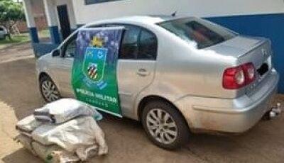 Homem é preso transportando 137 kg de maconha do MS para Brasília
