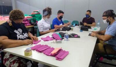 Governo de MS vai distribuir 40 mil máscaras para famílias carentes, produzidas pelo Rede Solidária
