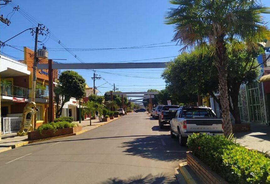 Avenida central de Bonito - MS