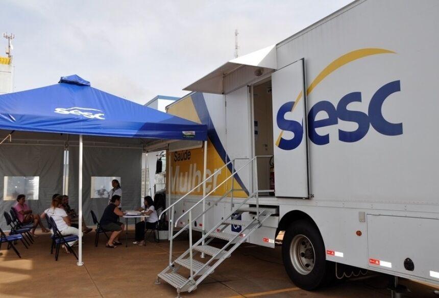 A Secretaria Municipal de Saúde informa que todos os exames de mamografia realizados na carreta do SESC estão disponíveis