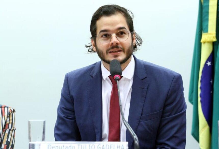Vinicius Loures/Câmara dos Deputados  O autor da proposta, deputado Túlio Gadêlha